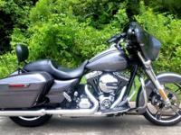 2014 HARLEY STREET GLIDE SPECIAL CHARCOAL PEARL 103ci