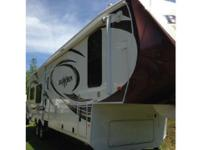 This is a 2014 Heartland Bighorn 3585RL, it is 39 FT in