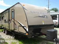 2014 Heartland Wilderness 2750 Travel Trailer.  * 5,300