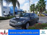 Options:  2014 Honda Accord Ex|This Vehicle Has A 2.4L