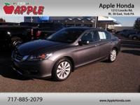 New Price! Certified. 36/27 Highway/City MPG Clean