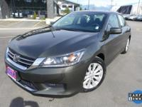 Options:  2014 Honda Accord Ex|160-Watt Am/Fm/Cd Audio