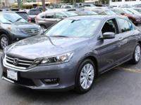 Check out this gently-used 2014 Honda Accord Sedan we