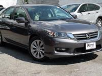Certified. 2014 Honda Accord EX Modern Steel Metallic