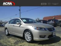 This 2014 Honda Accord Sdn EX-L, Stock # 15465 with a