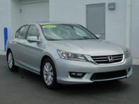 New Price! Clean CARFAX. This 2014 Honda Accord EX-L in