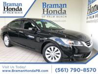 CARFAX One-Owner. Clean CARFAX. Black 2014 Honda Accord