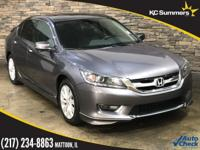 2014 Honda Accord Modern Steel Metallic Accident Free