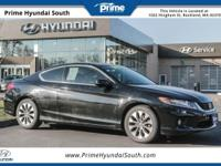 2014 Honda Accord EX-L FWD Crystal Black Pearl Clean