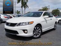 *ONE OWNER* and *CLEAN CARFAX*. White Orchid Pearl and