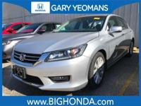 This 2014 Honda Accord Includes. Leather. Recent