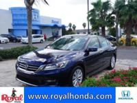 Options:  2014 Honda Accord Ex-L|This Vehicle Has A