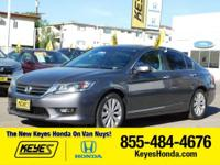 Options:  2014 Honda Accord Sedan Ex-L|Gray/Gray|V4 2.4