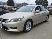 Options:  2014 Honda Accord Sdn Ex-L|Here Is The One