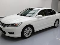 2014 Honda Accord with 2.4L I4 Engine,Leather