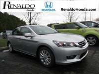 2014 Honda Accord EX-L Alabaster Silver Metallic