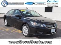 Carfax 1 Owner! Accident Free! 2014 Honda Accord EX-L,
