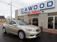 Options:  2014 Honda Accord Ex-L|Beige|Honda