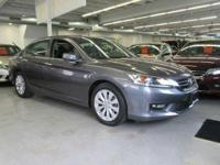 This 2014 Honda Accord Sedan 4dr I4 CVT EX-L is proudly