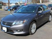 This 2014 Honda Accord Sedan EX-L is offered to you for