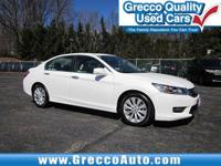 2014 Honda Accord EX-L  36/27 Highway/City MPG**