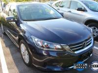 Accord EX-L w/Navigation, Honda Certified, and