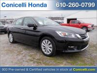 JUST ARRIVED! This one owner, 2014 Honda Accord Sedan