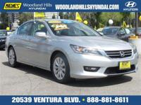 Options:  2014 Honda Accord Sedan Ex-L|Silver/|V4 2.4 L