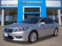 This 2014 Honda Accord Sedan EX-L is proudly offered by