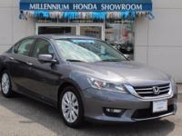 This Honda Certified Accord Sedan 4dr I4 CVT EX-L is a