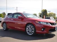 EPA 32 MPG Hwy/21 MPG City! San Marino Red exterior and