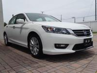 Recent Arrival! CARFAX One-Owner.WHITE/TAN ! NAVIGATION