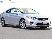 Only 17,202 Miles!!! 2014 Honda Accord EX-L!!! V6!!!