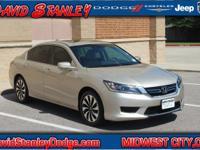 **CARFAX ONE OWNER**. Accord Hybrid EX-L, 4D Sedan,