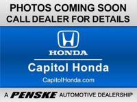 Hybrid! Go Green! Pertained to Capitol Honda! There is