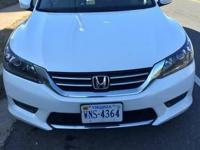 2014 White Honda Accord Sedan LX with 14,900 miles for