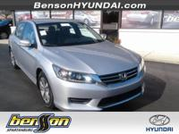 CLEAN CARFAX, CARFAX CERTIFIED, NON-SMOKER, Accord LX,