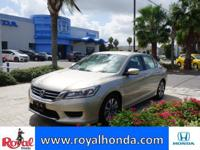 Options:  2014 Honda Accord Lx|This Vehicle Has A 2.4L