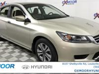 New Price! Honda Accord LX Clean Carfax - 1 Owner,