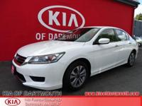 2014 Honda Accord LX FWD White Blue Tooth, Rear Back Up