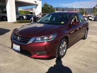 Options:  2014 Honda Accord Sdn Lx|Automatic|2.4L