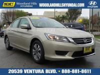 Options:  2014 Honda Accord Sedan Lx|Gold/|V4 2.4 L