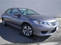 *HONDA CERTIFIED!*. Accord LX. Nice car! There are used