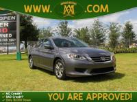 Options:  2014 Honda Accord Sedan Lx Is A 100% Carfax