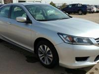 ***LOOK AT THE LOW MILES ON THIS ACCORD! ***ONE OWNER!