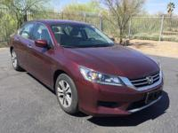 CARFAX ONE OWNER! Accord LX, 4D Sedan, CVT in Basque