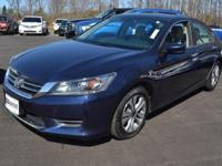 This 2014 Honda Accord Sedan 4dr 4dr I4 CVT LX features