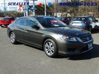 ONE OWNER, CLEAN CARFAX, and HONDA CERTIFIED. Accord