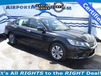 Check out this Honda Certified 2014 Honda Accord LX