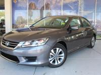 HONDA CERTIFIED WARRANTY APPLIES!!!!!, Accord LX.